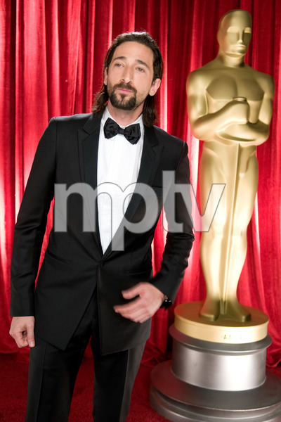 """""""The 81st Annual Academy Awards"""" (Backstage)Adrien Brody02-22-2009Photo by Michael Yada © 2009 A.M.P.A.S. - Image 23704_0352"""