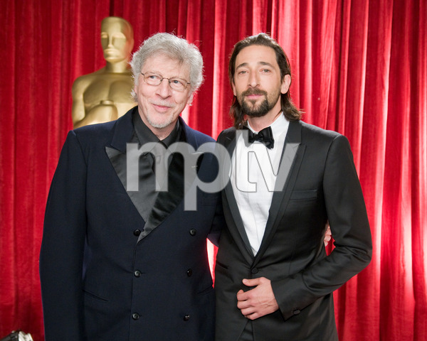 """""""The 81st Annual Academy Awards"""" (Backstage)Elliot Brody, Adrien Brody02-22-2009Photo by Michael Yada © 2009 A.M.P.A.S. - Image 23704_0353"""