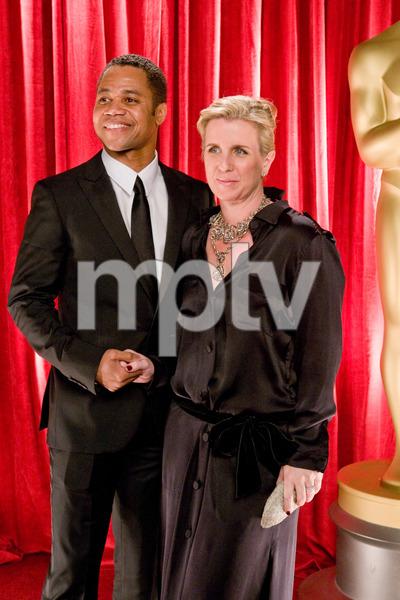 """The 81st Annual Academy Awards"" (Backstage)Cuba Gooding Jr., Sara Kapfer02-22-2009Photo by Ivan Vejar © 2009 A.M.P.A.S. - Image 23704_0375"