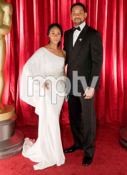"""""""The 81st Annual Academy Awards"""" (Backstage)Will Smith, Jada Pinkett Smith02-22-2009Photo by Ivan Vejar © 2009 A.M.P.A.S. - Image 23704_0376"""