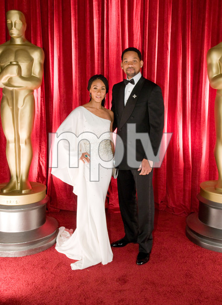 """""""The 81st Annual Academy Awards"""" (Backstage)Will Smith, Jada Pinkett Smith02-22-2009Photo by Ivan Vejar © 2009 A.M.P.A.S. - Image 23704_0377"""