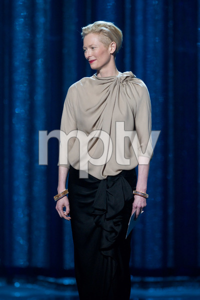 """The 81st Annual Academy Awards"" (Telecast)Tilda Swinton02-22-2009Photo by Michael Yada © 2009 A.M.P.A.S. - Image 23704_0402"
