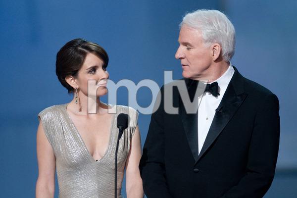 """The 81st Annual Academy Awards"" (Telecast)Tina Fey, Steve Martin02-22-2009Photo by Michael Yada © 2009 A.M.P.A.S. - Image 23704_0406"
