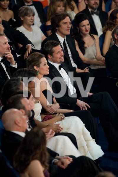 """The 81st Annual Academy Awards"" (Telecast)Angelina Jolie, Brad Pitt02-22-2009Photo by Darren Decker © 2009 A.M.P.A.S. - Image 23704_0426"