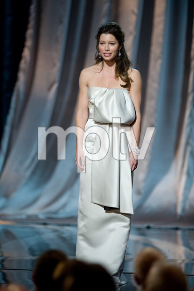 """""""The 81st Annual Academy Awards"""" (Telecast)Jessica Biel02-22-2009Photo by Michael Yada © 2009 A.M.P.A.S. - Image 23704_0456"""