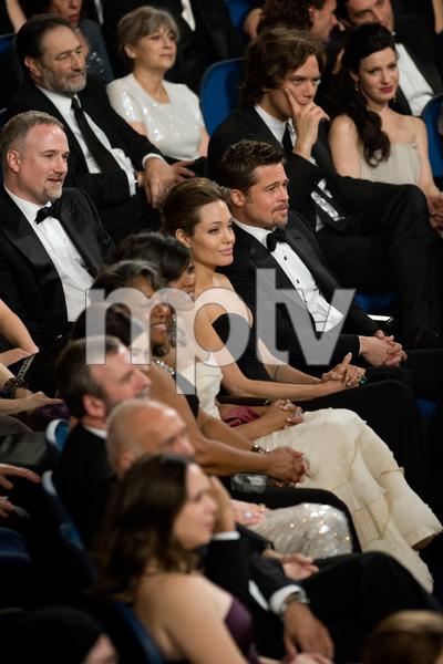 """The 81st Annual Academy Awards"" (Telecast)Angelina Jolie, Brad Pitt02-22-2009Photo by Darren Decker © 2009 A.M.P.A.S. - Image 23704_0463"