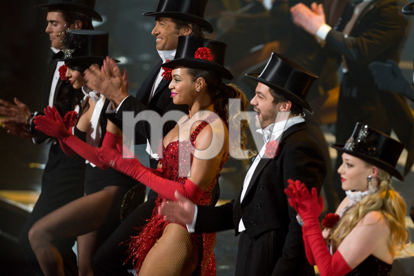 """""""The 81st Annual Academy Awards"""" (Telecast)Hugh Jackman, Beyonce Knowles02-22-2009Photo by Darren Decker © 2009 A.M.P.A.S. - Image 23704_0473"""