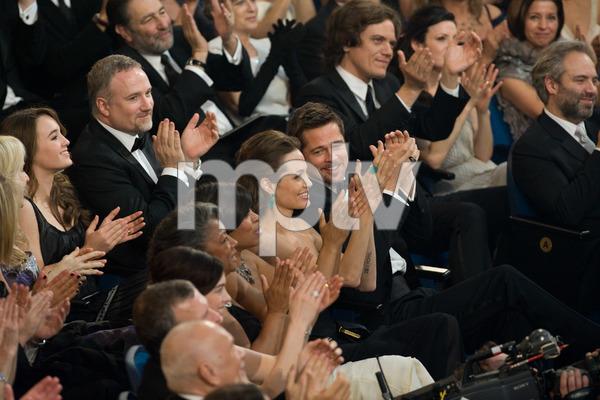 """The 81st Annual Academy Awards"" (Telecast)Angelina Jolie, Brad Pitt02-22-2009Photo by Darren Decker © 2009 A.M.P.A.S. - Image 23704_0475"