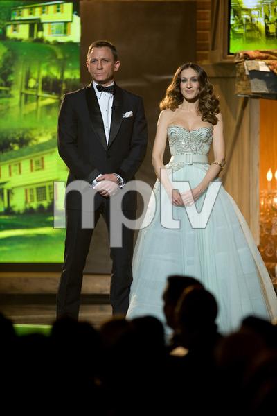 """The 81st Annual Academy Awards"" (Telecast)Daniel Craig, Sarah Jessica Parker02-22-2009Photo by Michael Yada © 2009 A.M.P.A.S. - Image 23704_0510"