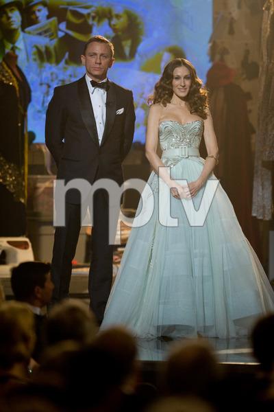 """The 81st Annual Academy Awards"" (Telecast)Daniel Craig, Sarah Jessica Parker02-22-2009Photo by Michael Yada © 2009 A.M.P.A.S. - Image 23704_0513"