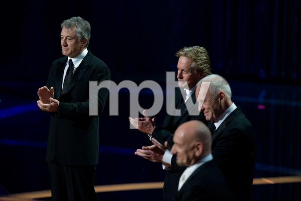 """The 81st Annual Academy Awards"" (Telecast)Robert De Niro, Michael Douglas, Anthony Hopkins02-22-2009Photo by Darren Decker © 2009 A.M.P.A.S. - Image 23704_0529"