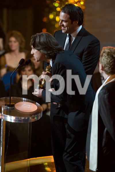 """The 81st Annual Academy Awards"" (Telecast)James Marsh, Simon Chinn02-22-2009Photo by Darren Decker © 2009 A.M.P.A.S. - Image 23704_0558"