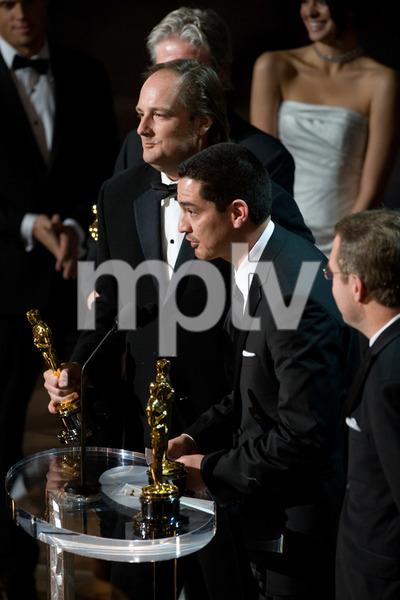 """The 81st Annual Academy Awards"" (Telecast)Eric Barba, Craig Barron02-22-2009Photo by Darren Decker © 2009 A.M.P.A.S. - Image 23704_0560"