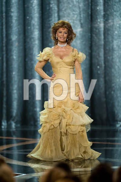 """The 81st Annual Academy Awards"" (Telecast)Sophia Loren02-22-2009Photo by Michael Yada © 2009 A.M.P.A.S. - Image 23704_0587"