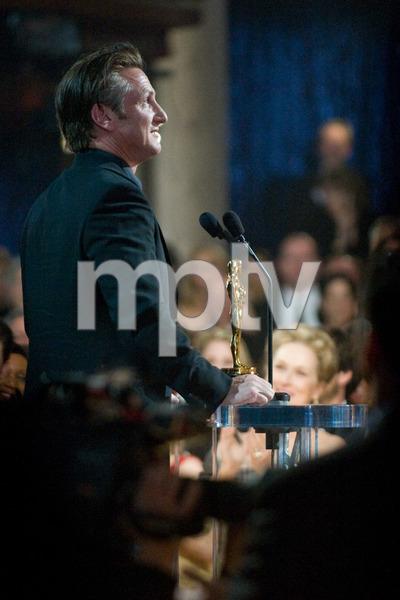 """The 81st Annual Academy Awards"" (Telecast)Sean Penn02-22-2009Photo by Richard Harbaugh © 2009 A.M.P.A.S. - Image 23704_0617"