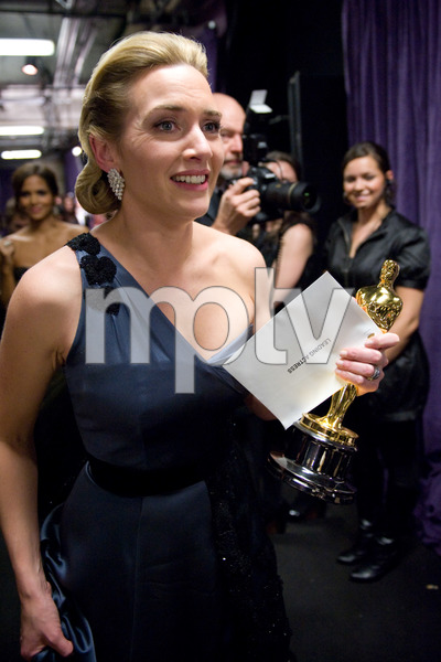 """""""The 81st Annual Academy Awards"""" (Backstage)Kate Winslet02-22-2009Photo by Richard Harbaugh © 2009 A.M.P.A.S. - Image 23704_0619"""