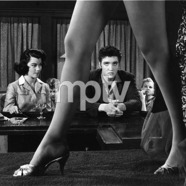 """Jailhouse Rock""Judy Tyler, Elvis Presley1957 MGM** I.V. - Image 23705_0018"
