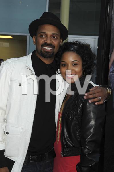 """""""Next Day Air"""" (Premiere)Mike Epps and wife Michelle McCain04-29-09 / ArcLight Theater / Hollywood, CA / Summit Entertainment / Photo by Heather Holt - Image 23725_0043"""