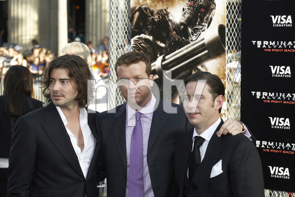 """""""Terminator Salvation"""" PremiereProducer Victor Kubicek, Director McG and Derek Anderson5-14-2009 / Grauman"""