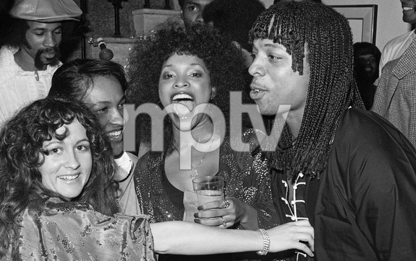 Teena Marie, Tina Andrews and Rick James at a party 1979 © 1979 Bobby Holland - Image 23730_0007