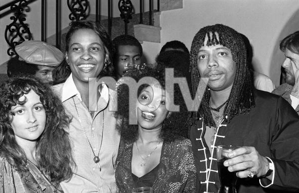 Teena Marie, Tina Andrews and Rick James at a party1979 © 1979 Bobby Holland - Image 23730_0008