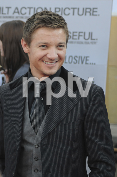 """The Hurt Locker"" PremiereJeremy Renner6-5-2009 / Egyptian Theater / Hollywood, CA / Summit Entertainment / Photo by Heather Holt - Image 23744_0038"