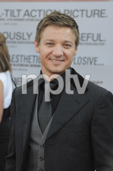 """The Hurt Locker"" PremiereJeremy Renner6-5-2009 / Egyptian Theater / Hollywood, CA / Summit Entertainment / Photo by Heather Holt - Image 23744_0039"