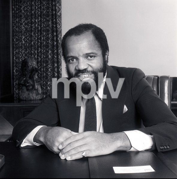Berry Gordy, Founder & Chairman Motown Records in Los Angeles circa 1980 © 1980 Bobby Holland - Image 23751_0001