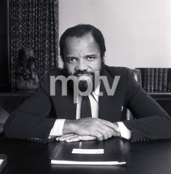 Berry Gordy, Founder & Chairman Motown Records in Los Angelescirca 1980 © 1980 Bobby Holland - Image 23751_0002
