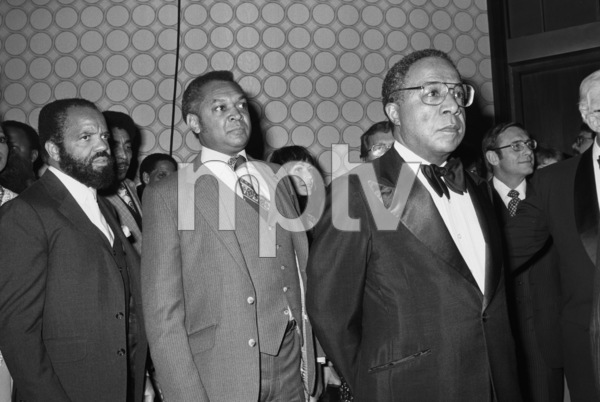 Berry Gordy, John Mack and Alex Haley1983 © 1983 Bobby Holland - Image 23751_0005