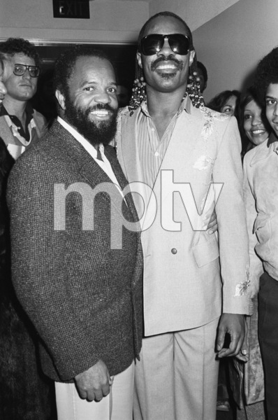 Berry Gordy and Stevie Wonder1983 © 1983 Bobby Holland - Image 23751_0010