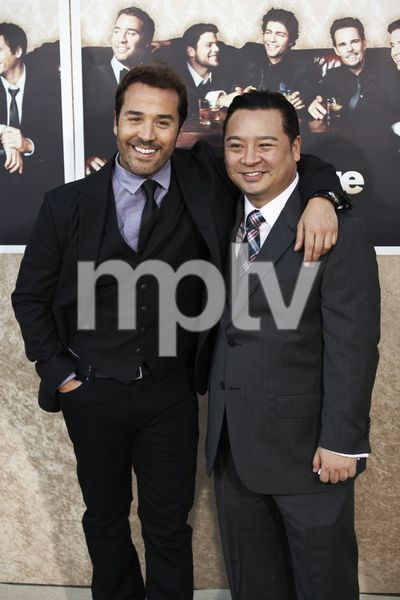 """""""Entourage"""" Premiere Jeremy Piven and Rex Lee7-9-2009 / The Paramount Theater / Hollywood, CA / Paramount Pictures / Photo by Benny Haddad - Image 23752_0117"""