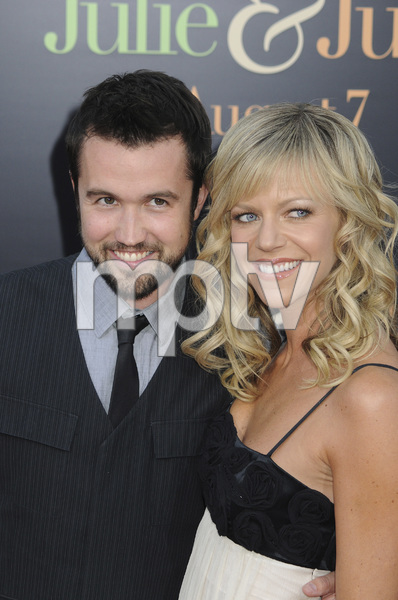 """""""Julie & Julia"""" Premiere  Kaitlin Olson & Rob McElhenney7-27-2009 / Mann Village Theater / Westwood, CA / Sony Pictures / Photo by Heather Holt - Image 23754_0176"""