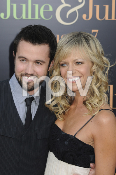 """""""Julie & Julia"""" Premiere  Kaitlin Olson & Rob McElhenney7-27-2009 / Mann Village Theater / Westwood, CA / Sony Pictures / Photo by Heather Holt - Image 23754_0178"""
