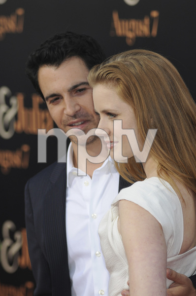 """Julie & Julia"" Premiere Amy Adams & Chris Messina7-27-2009 / Mann Village Theater / Westwood, CA / Sony Pictures / Photo by Heather Holt - Image 23754_0212"