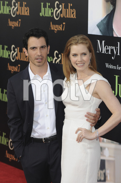 """""""Julie & Julia"""" Premiere Amy Adams & Chris Messina7-27-2009 / Mann Village Theater / Westwood, CA / Sony Pictures / Photo by Heather Holt - Image 23754_0213"""
