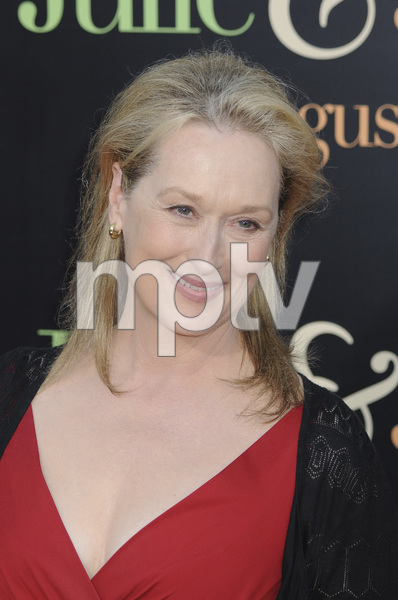 """Julie & Julia"" PremiereMeryl Streep7-27-2009 / Mann Village Theater / Westwood, CA / Sony Pictures / Photo by Heather Holt - Image 23754_0226"