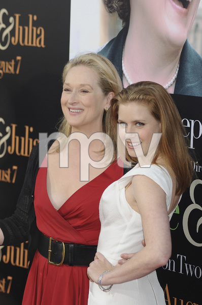 """Julie & Julia"" Premiere Meryl Streep & Amy Adams7-27-2009 / Mann Village Theater / Westwood, CA / Sony Pictures / Photo by Heather Holt - Image 23754_0229"