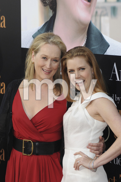 """Julie & Julia"" Premiere  Meryl Streep & Amy Adams7-27-2009 / Mann Village Theater / Westwood, CA / Sony Pictures / Photo by Heather Holt - Image 23754_0230"