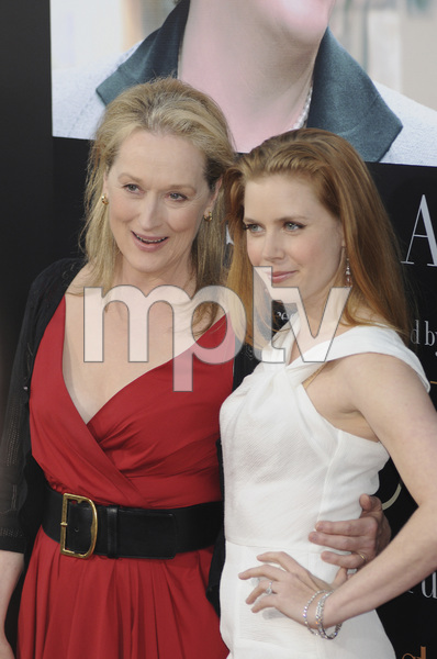 """""""Julie & Julia"""" Premiere  Meryl Streep & Amy Adams7-27-2009 / Mann Village Theater / Westwood, CA / Sony Pictures / Photo by Heather Holt - Image 23754_0232"""