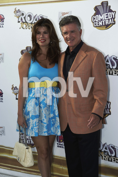 """The Comedy Central Roast of Joan Rivers"" Tanya Callau, Alan Thicke7-26-2009 / CBS Studios / Studio City, CA / Comedy Central / Photo by Benny Haddad - Image 23755_0035"