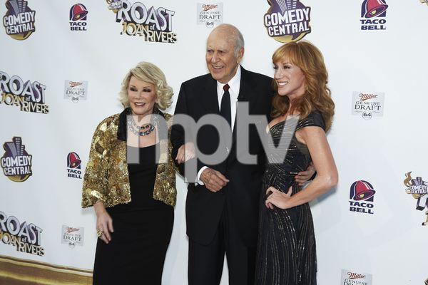 """The Comedy Central Roast of Joan Rivers"" Joan Rivers, Carl Reiner, Kathy Griffin7-26-2009 / CBS Studios / Studio City, CA / Comedy Central / Photo by Benny Haddad - Image 23755_0080"