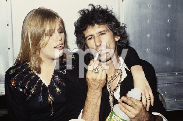 Keith Richards and Patti Hansen1984 © 1984 Bruce McBroom - Image 23777_0002