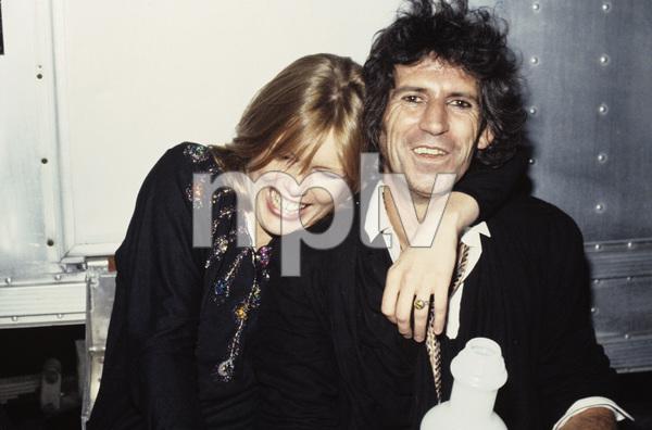 Keith Richards and Patti Hansen1984 © 1984 Bruce McBroom - Image 23777_0003