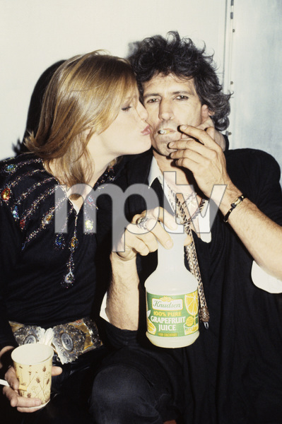 Keith Richards and Patti Hansen1984 © 1984 Bruce McBroom - Image 23777_0004