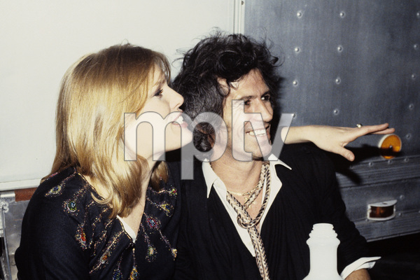Keith Richards and Patti Hansen1984 © 1984 Bruce McBroom - Image 23777_0005