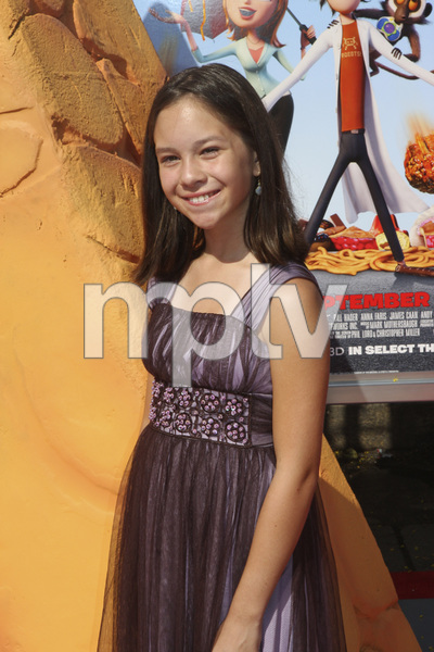 """Cloudy with a Chance of Meatballs"" Premiere Grace Rolek9-12-2009 / Mann Village Theater / Westwood, CA / Columbia Pictures / Photo by Joelle Leder - Image 23792_0008"