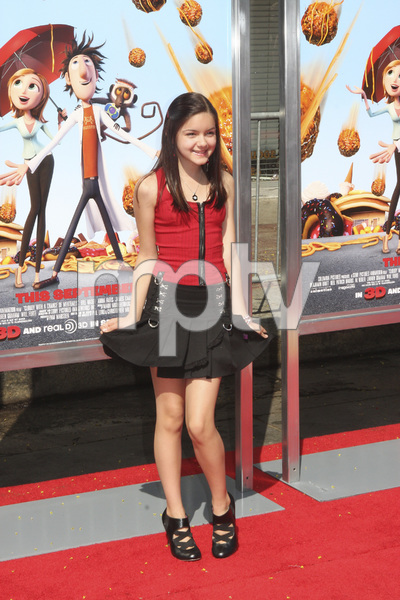"""""""Cloudy with a Chance of Meatballs"""" Premiere Ariel Winter9-12-2009 / Mann Village Theater / Westwood, CA / Columbia Pictures / Photo by Joelle Leder - Image 23792_0028"""