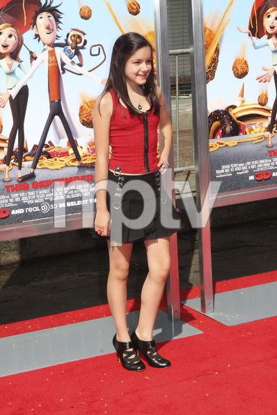 """""""Cloudy with a Chance of Meatballs"""" Premiere Ariel Winter9-12-2009 / Mann Village Theater / Westwood, CA / Columbia Pictures / Photo by Joelle Leder - Image 23792_0031"""
