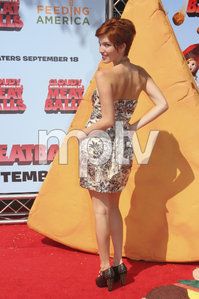 """Cloudy with a Chance of Meatballs"" Premiere Dani Thorne9-12-2009 / Mann Village Theater / Westwood, CA / Columbia Pictures / Photo by Joelle Leder - Image 23792_0141"